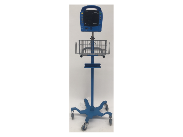 GE ProCare Patient Monitor on Stand with SPO2 Finger Sensor (Refurbished)