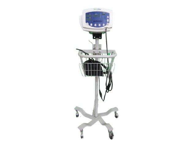 Welch Allyn 53N00 Monitor Paziente + Treppiedi, Tubo BP & Sensore Dito Spo2 (Refurbished)