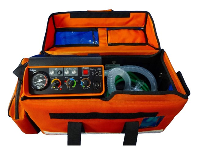 DRAGER Oxylog 1000 Ventilator with Bag (7)