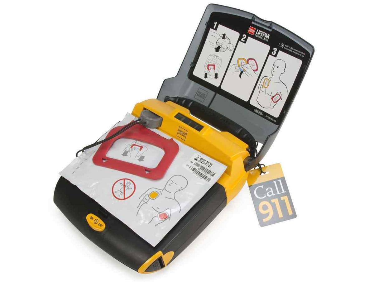 Physio-Control LIFEPAK CR Plus AED Defibrillator (15)