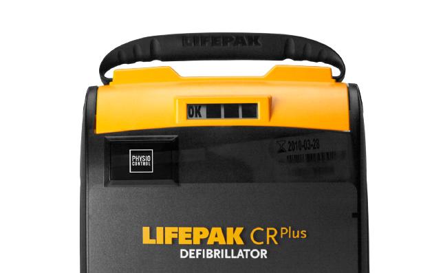 Physio-Control LIFEPAK CR Plus AED Defibrillator - Handle