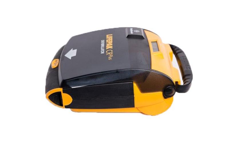 Physio-Control LIFEPAK CR Plus AED Defibrillator - Side View