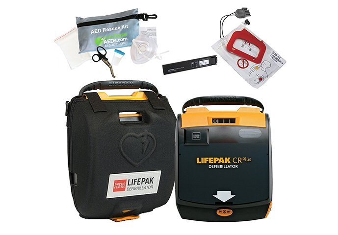 Physio-Control LIFEPAK CR Plus AED Defibrillator - Accessories