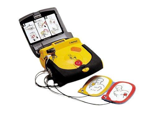 Physio-Control LIFEPAK CR Plus AED Defibrillator - Pads