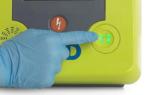 ZOLL AED 3 Defibrillator - Pediatric Button