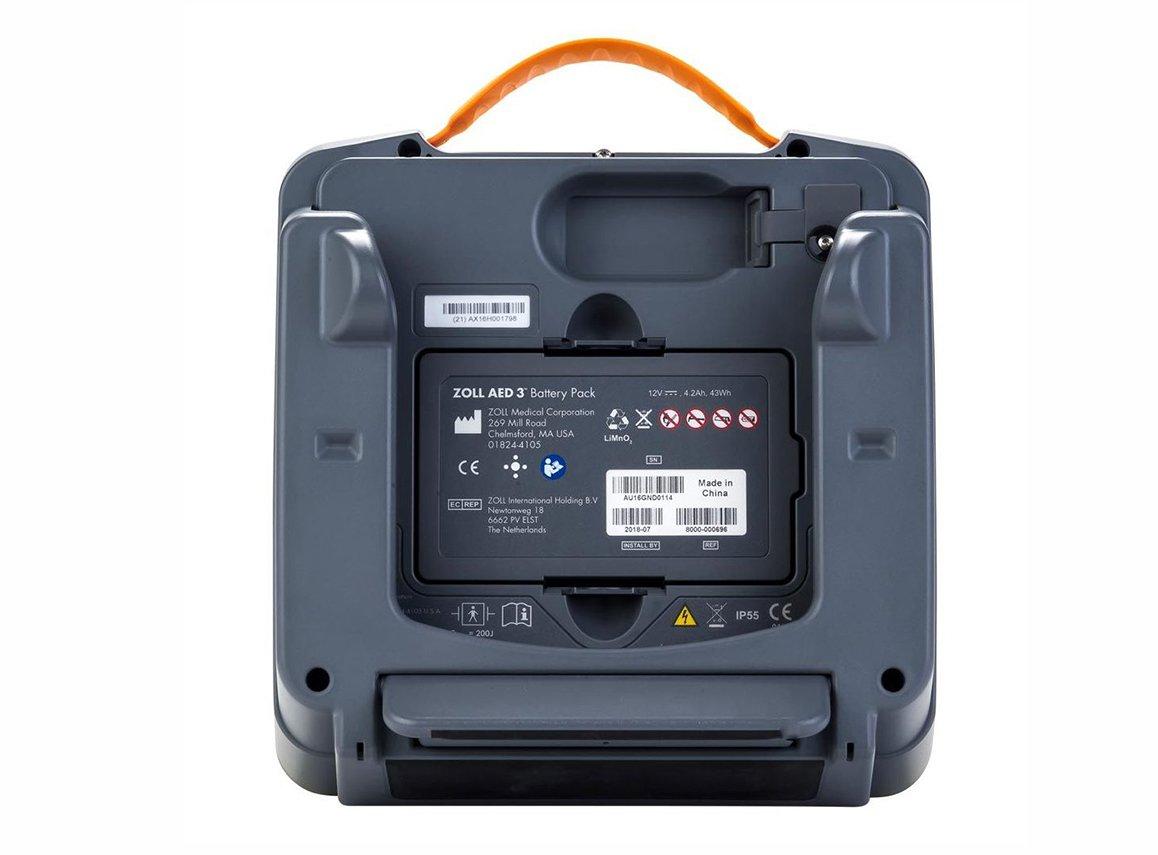 ZOLL AED 3 Defibrillator - Back Side