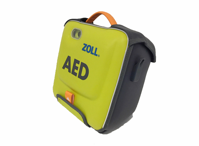 ZOLL AED 3 Defibrillator - Bag Side View