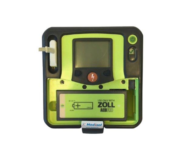 ZOLL AED Pro Defibrillator - Battery Open