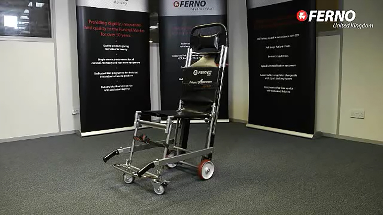 Compact 4 Track Evacuation Chair