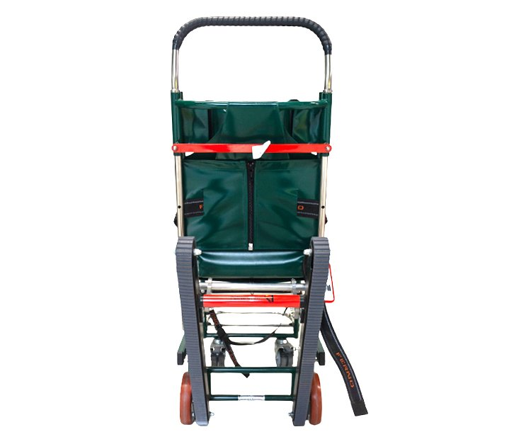 Ferno Compact 4 Track Evac Chair - Back