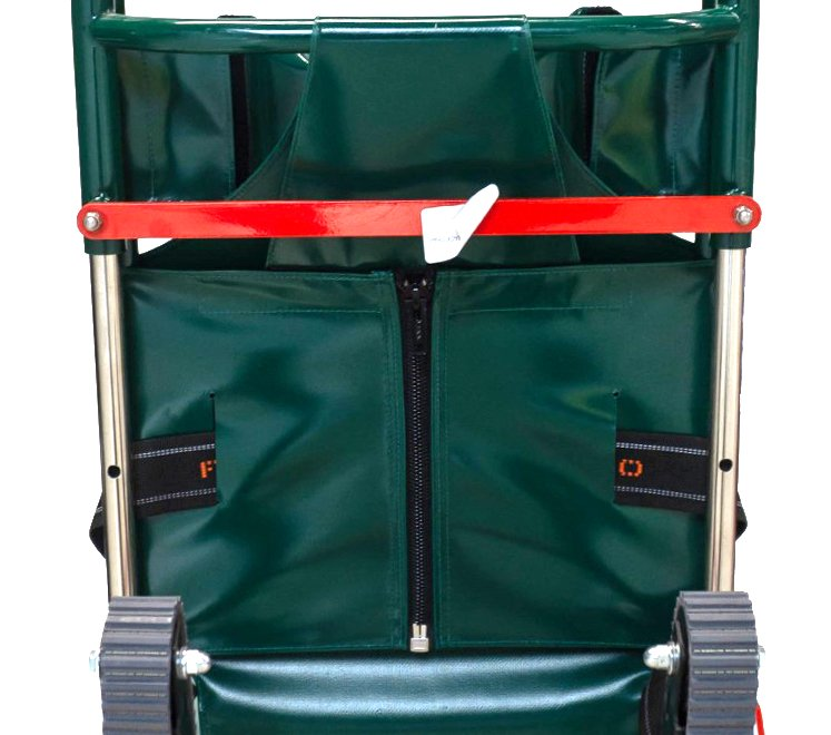 Ferno Compact 4 Track Evacuation Chair - Back 2