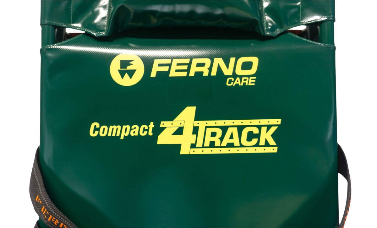 Ferno Compact 4 Track Evacuation Chair - Front Logo