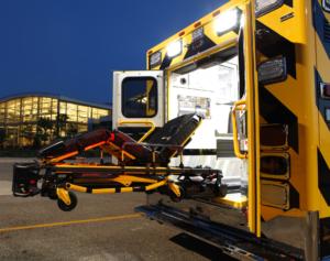 STRYKER Power-PRO XT Hydraulic Stretcher + Power-LOAD System