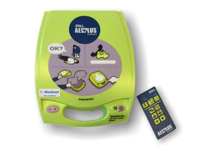 ZOLL AED Plus Defibrillator Trainer 2 (8)