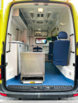 Volkswagen LT Ambulance - Back Open